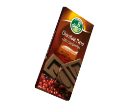 Chocolate preto com cranberries | 75g