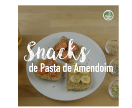 Snacks de Pasta de Amendoim